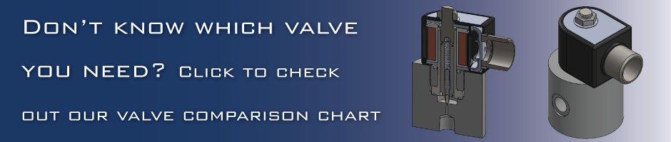 High Pressure Valves Comparison Chart